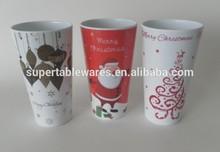 440ML Plastic melamine christmas gift cups and mugs