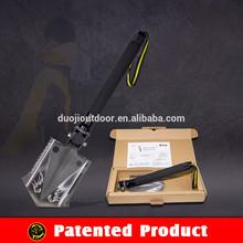 Newest Portable Folding Mini Shovel Flint Stone Knife Tactical Survival Hunting Tool