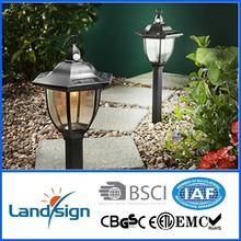 Landsign CE,ROHS IP33 plastic solar garden lamp
