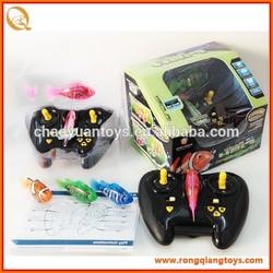 Hot selling kids plastic rc swimming robotic fish toys RC78318829
