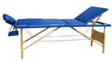 3 folding wooden massage table