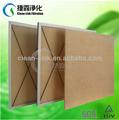 De alta resistencia a la temperatura del panel del filtro de aire, panel de filtro, g4 del filtro de aire( fabricación)
