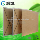 High temperature resistance panel air filter,panel filter ,G4 air filter(manufacture)