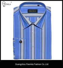 latest design stripe cotton french cuff shirts wholesale for men