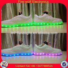 Men Casual Shoes Factory led luminous shoes for dancer