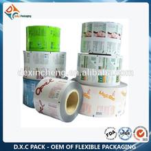 China Manufacturer Custom Printed Metallized Polyester Film