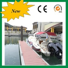 PVC boat decking material, water resistant