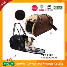 Mesh Window Side Open Pet Dog Sleeping Bag Bed