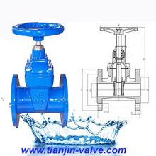 rising gate valve outside stem and yoke