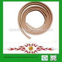 non-toxic EPDM PVC material garage door seal magnetic metal insert