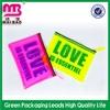 free logo design colorful soft eva pvc clear vinyl plastic snap tote bag