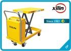 Mini semi automatic lift table trolley