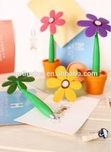 Sunflower Shaped Ball Point Pen