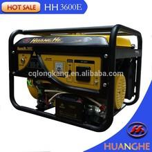 100% Copper Wire kw motors portable gasoline generator set
