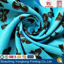 metallic fabric for rayon woman garment