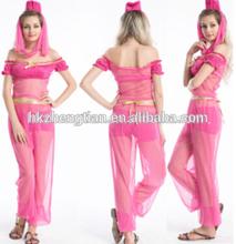 Adultos nave de la gota carnaval instyles 2014 nuevas mujeres de la ropa del funcionamiento trajes medievales traje India