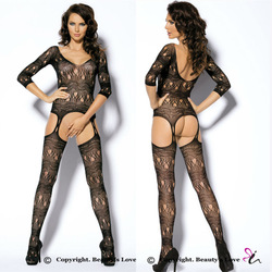Beauty's love bodystocking lingerie nude women sexy lingerie allure bodysuit transparent erotik lingerie