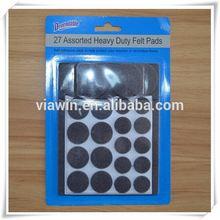Designer most popular hard felt pads for chair legs