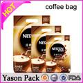yason coffeehigh qualité avec fermeture éclair sacs sac de café avec valvedoypack pochettes avec évents idéal pour le café ou choucroute packagi