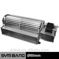 AFG60 60mm 115v 230v fireplace blower fan motor