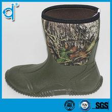 Low Price Waterproof Anti-skidding Fashion Camo Rain Boots