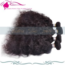 Wholesale super quality spring curl brazilian kinky curly remy hair weave