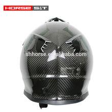 Carbon Fiber material Off-road helmet, ECE&DOT Approved