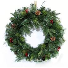 24inch PE Christmas wreath