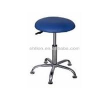 Middle density Round stool lifting metal Nursing Chair five leg