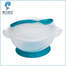 2015 Latest design plastic baby bowl with handle