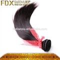 Preço de fábrica baratos cabelo de trama pacotes, brasileiro cabelo liso com cor natural