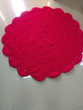 Felt ball rugs, knitted rugs, crochet hand-made rugs