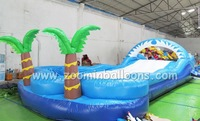 Commercial top selling big inflatable slide hot for promotion,inflatable slide Z3031
