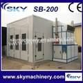 sb-200 자동 스프레이 페인팅 오븐/ 자동 페인트 베이킹 장비