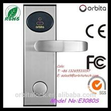 Advanced electronic hotel RFID card lock system, security electronic hotel locks,hotel keyless door lock
