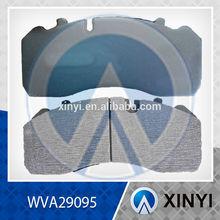 29095 WVA29095 Heavy duty Brake Pad, Disc brake For Mercedes Benz Truck OEM81508206022