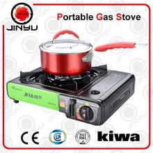 single aluminium burner outdoor portable camping gas stove with CE&CSA