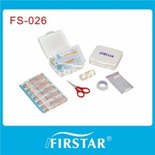road emergency first aid kit with din13164