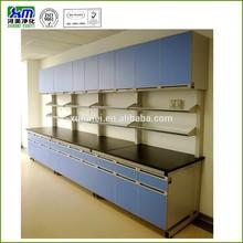 laboratory wall bench, wall storage cupboard
