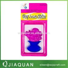 jelly gel window sticker ,gel air freshener,glazy aroma sticker