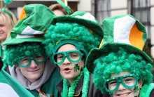 Dia de St. Patrick 100th vendas urso de pelúcia barato