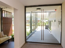 Artistic and tasteful entrance door with high quality