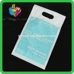 Yiwu China printed high quality plastic custom made shopping bags