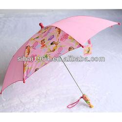 new model fashion plastic cartoon handles child umbrella / umbrella ribs