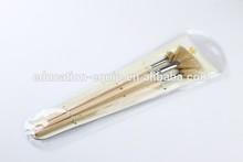 SE101052 Professionnal Fan Nature Bristle Brush For Gouache&Oil Paint