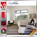nuevo diseño de australia personalizado tamaños estándar as2047 con exterior de aluminio de la ventana corredera