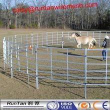 1800*2100mm heavy duty galvanized rail pastoral industry livestock cattle panel