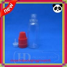 bouteilles plastique pour e-liquide bottle 20ml PET e liquid bottle child child tamper proof cap