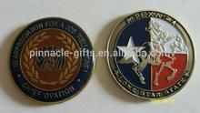 different state souvenir enamel zinc copper coin