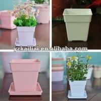 decorative plant pots indoor rectangular flower pot